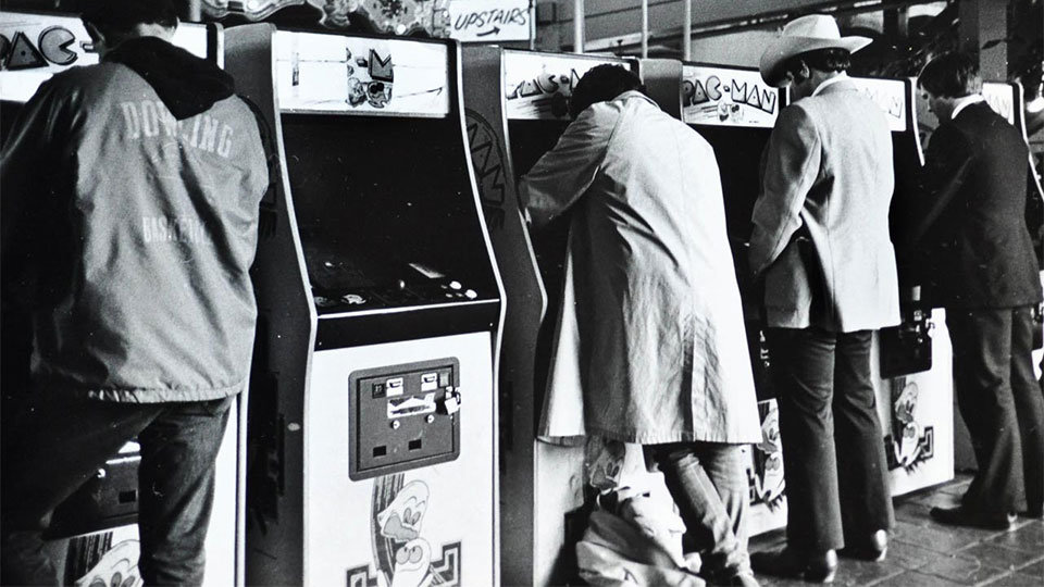 Vintage Arcade Photo ('81-'82) by Ira Nowinksi