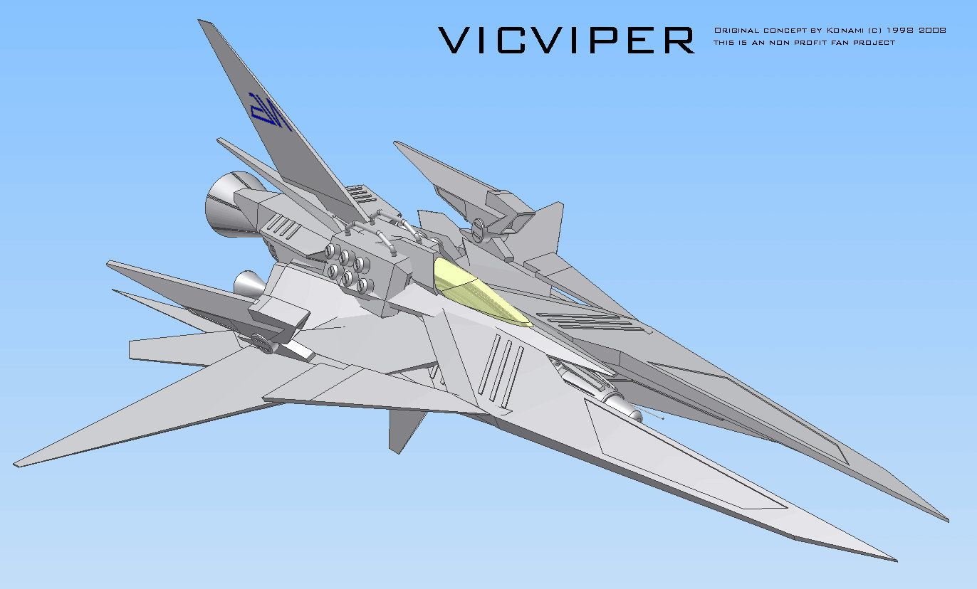 Vic Viper CAD Screen 10 by myname1z4xs