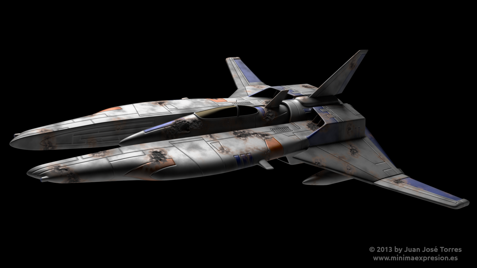 Vic Viper from Gradius Saga by JuanJoseTorres