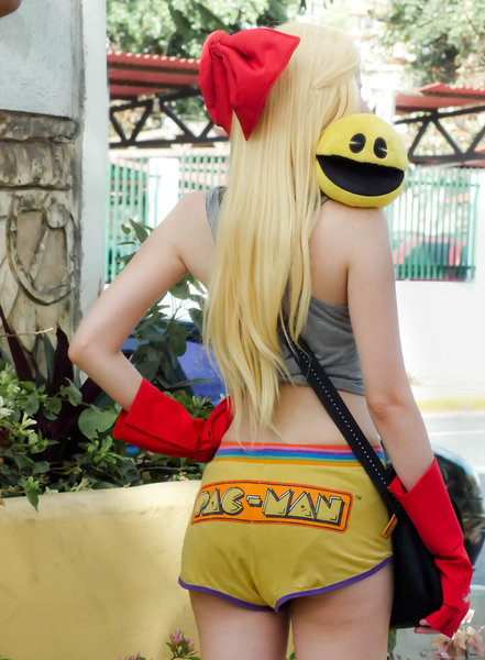 Gijinka Ms. Pac-Man by DollK 10