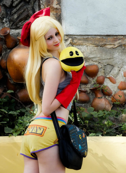Gijinka Ms. Pac-Man by DollK 12