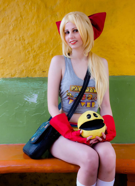 Gijinka Ms. Pac-Man by DollK 16