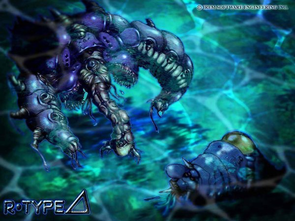 R-Type Delta Slugia Wallpaper 1024x768