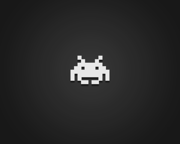 Space Invaders Wallpaper by Vellosia 1600x1280