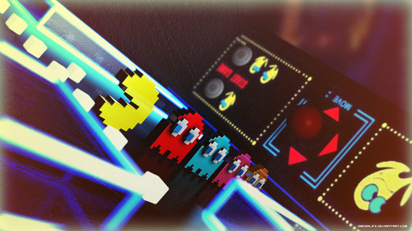 Arcade Pac-Man by Omegalife