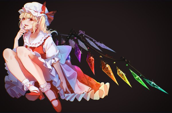Flandre Scarlet Touhou drawn by Chouko (Butterfly Child)