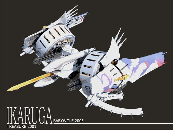 Ikaruga Wallpaper 1024x768 by Babywolf2918