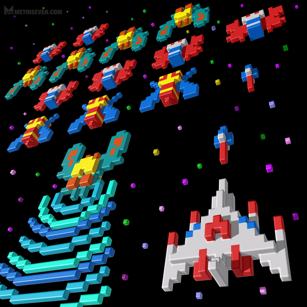 Inside Galaga by M7