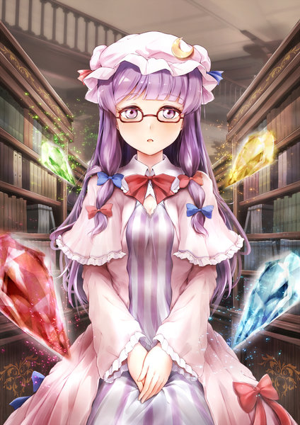 Patchouli Knowledge Touhou drawn by Rin (Ashleyy)