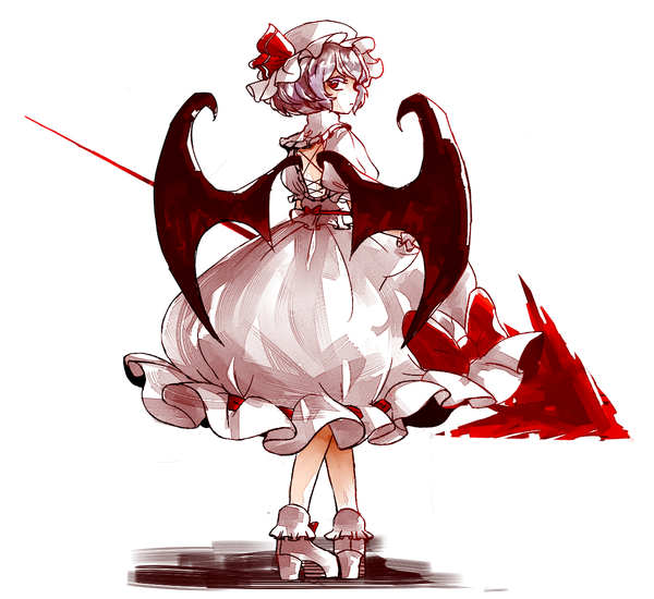 Remilia Scarlet Touhou drawn by Chiru (equation9)