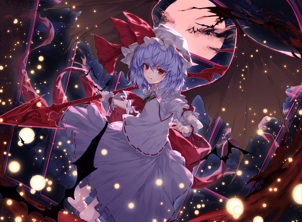 Remilia Scarlet Touhou drawn by Lo-ta