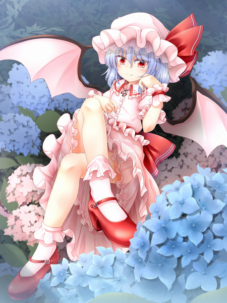 Remilia Scarlet drawn by m9kndi