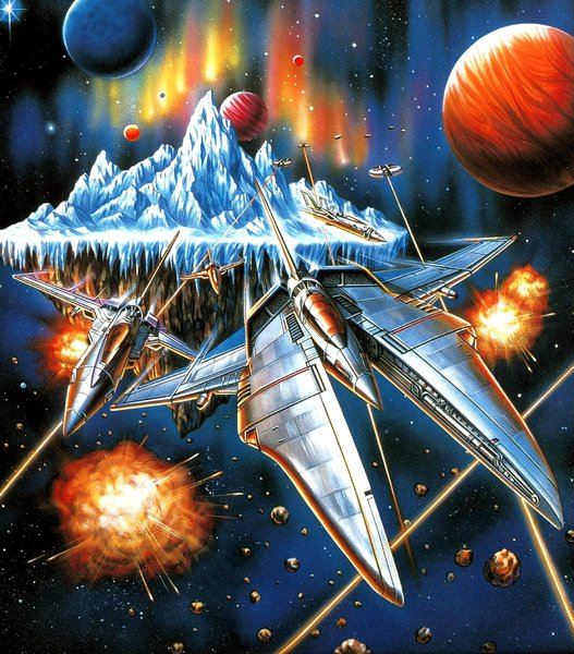 Gradius Gaiden Artwork - Vic Viper
