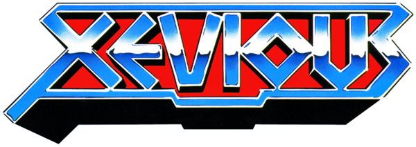 Xevious logo by RingoStarr39